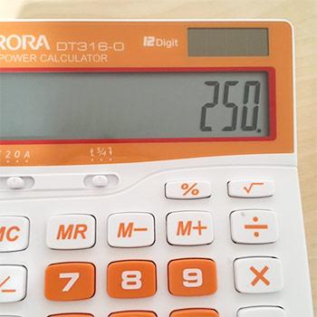 250m3