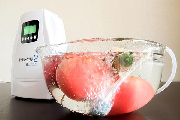 【特徴③】オースリークリア2には便利なオゾン水生成機能がある