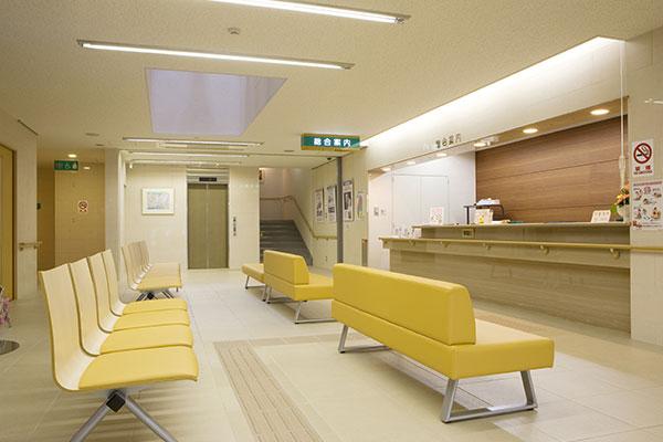 病院/待合室・診察室・病室・ナースステーション
