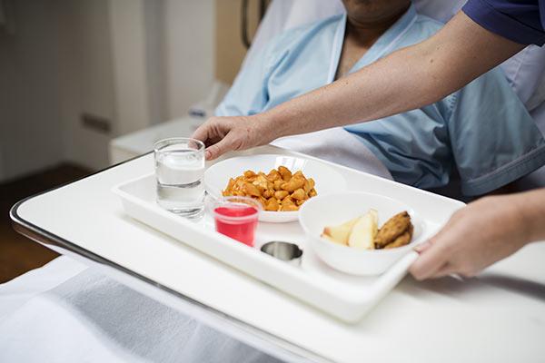 患者さんの食事に出てくる清浄野菜にも