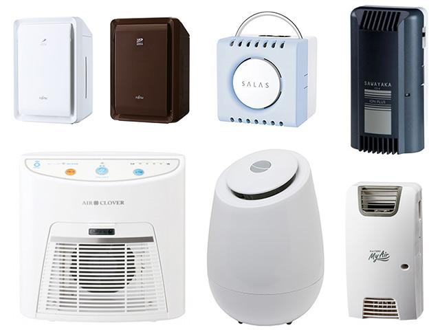 家庭用オゾン発生器部門の第1位の製品