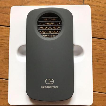 家庭用オゾン発生器 オゾバリア(20-7R)の特徴