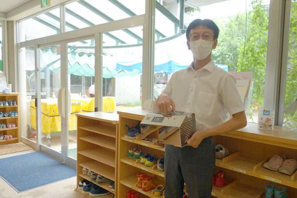 オゾン発生器を導入した大阪府堺市の保育園