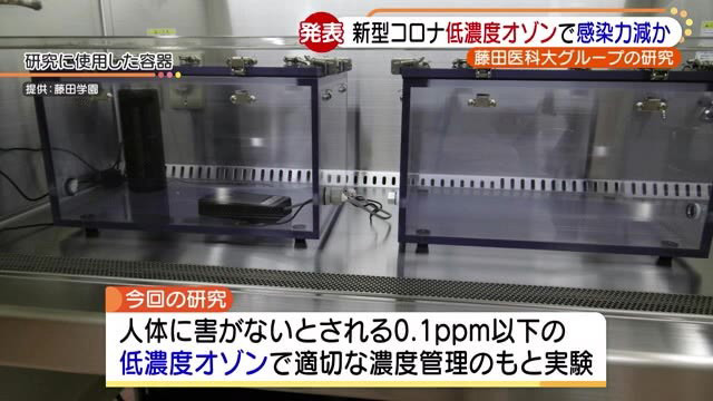 低濃度でのコロナ殺菌の実験内容