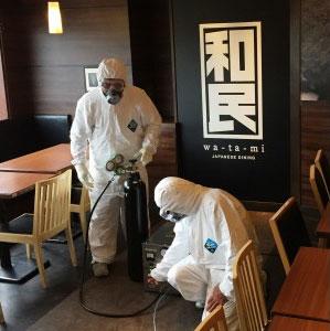 オゾン殺菌消毒を取り入れたワタミ