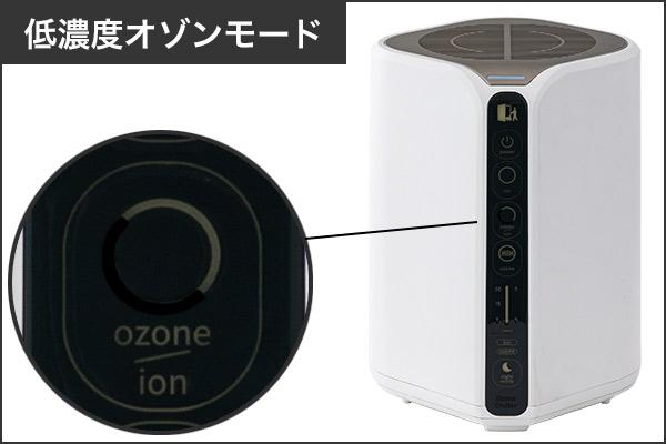 低濃度オゾンモード